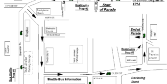 Parade Route and Directions